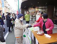 200111富士見台本町通り鏡開き01